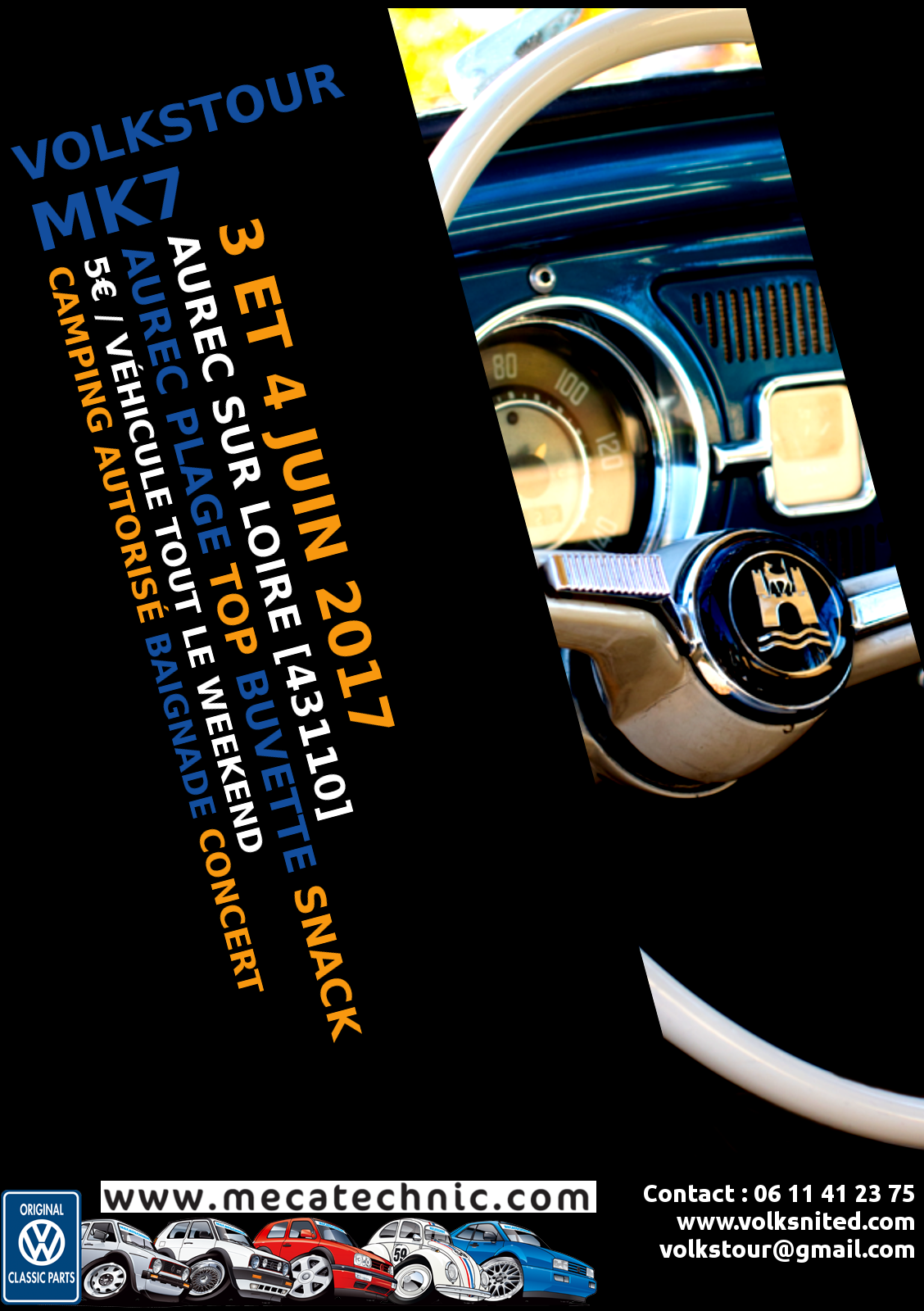 flyer affiche Volkstour7